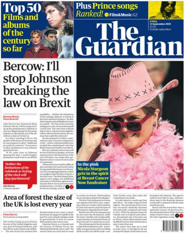 Guardian 13 September 2019