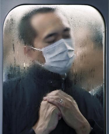 Michael Wolf, Tokyo Compression #75, 2011