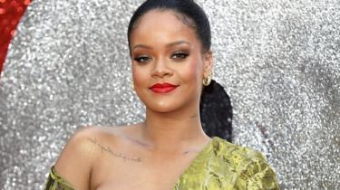 Rihanna at Oceans 8 premiere
