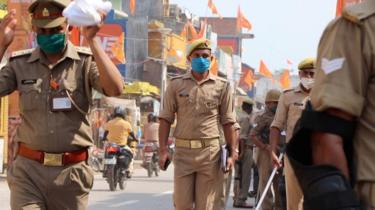 अयोध्या में सुरक्षा इंतजाम
