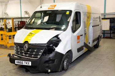 Van used in London Bridge attacks