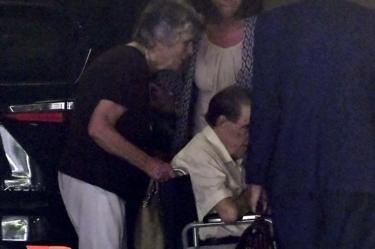 Vela in wheelchair, file pic