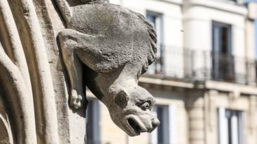 Notre-Dame gargoyle
