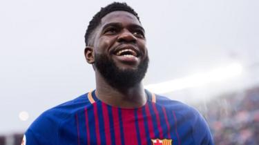 Samuel Umtiti miongoni mwa wachezaji wanaosakwa na Barcelona
