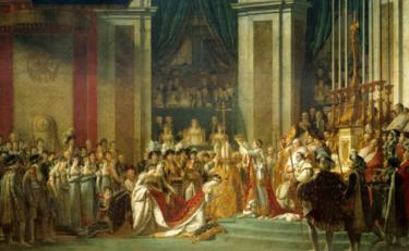 The Coronation of Napoleon by Jean-Louis David
