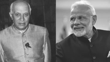 नेहरू और मोदी