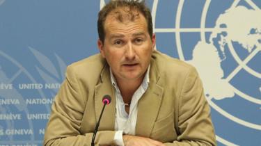 Tarik Jasarevic, le porte-parole de l'Organisation mondiale de la Santé (OMS)