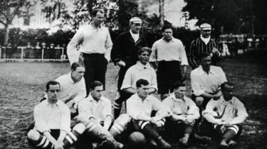 Equipe corintiana em 1910