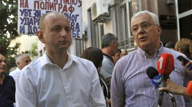 Knezevic (L) and Mandic, 20 Jul 17