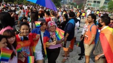 Komunitas Rainbow Bandung Dukung Prabowo-Sandi