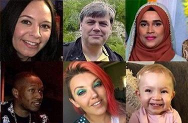 Photos of some of those killed in UK in 2019