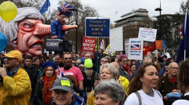 People's Vote March in London