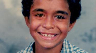 Daniel Love as a child