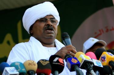 Gen Salah Gosh in Khartoum, 2010