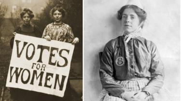 Annie Kenney and Christabel Pankhurst / Annie Kenney