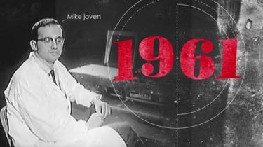 Mike Gazzaniga en 1961