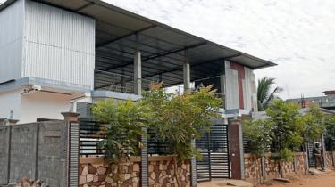 The headquarters of the NTJ under police guard
