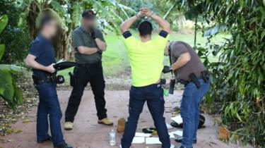 Man arrested at Atherton, Queensland