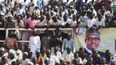 Rally in support of Muhammadu Buhari, Kano, 2019