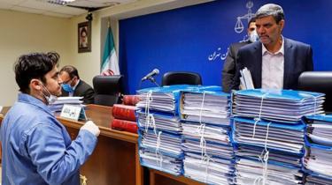 ریاست دادگاه آقای زم را ابوالقاسم صلواتی بر عهده داشت که به گفته فعالان حقوق بشر رابطهای نزدیک با نهادهای امنیتی دارد