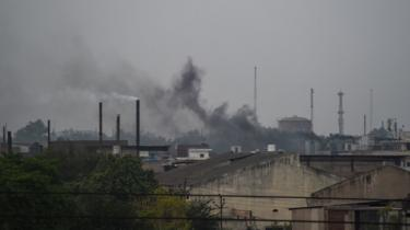 Industrial pollution is a major contributor to foul air in Kanpur