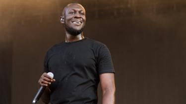 Stormzy on stage at the Sziget Festival 2018 in Budapest, Hungary