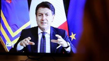 PM Giuseppe Conte