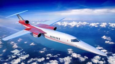 Illustration of Aerion`s AS2 business jet