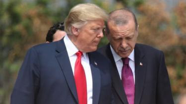 ترامب وأردوغان في عام 2018