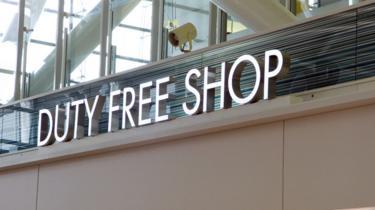 A duty free shop