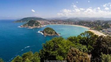 pantai Atlantik Spanyol