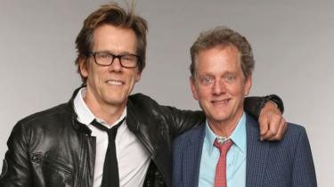Kevin Bacon with his brother Michael