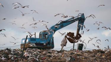 Rubbish dump Edgefield Norfolk