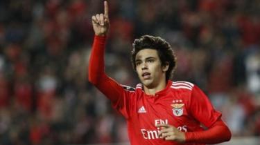 Felix alishinda taji la ligi na Benfica msimu uliopita