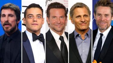 Best actor Oscar nominees