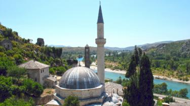 A mosque in Pocitelj, 19 Jul 11