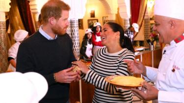 The Duke and Duchess of Sussex on Morocco