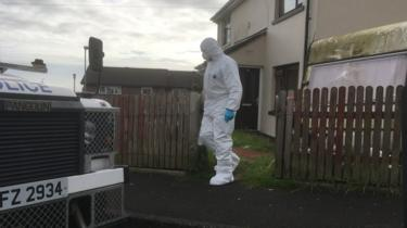 police search in derry