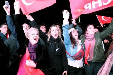 CHP celebration in Ankara, 31 Mar 19