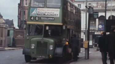 Wolverhampton bus in the 1960s
