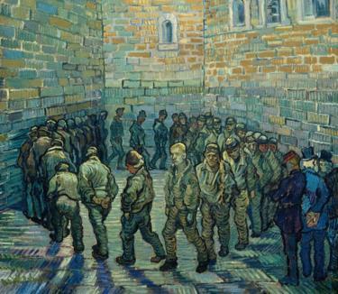 The Prison Courtyard