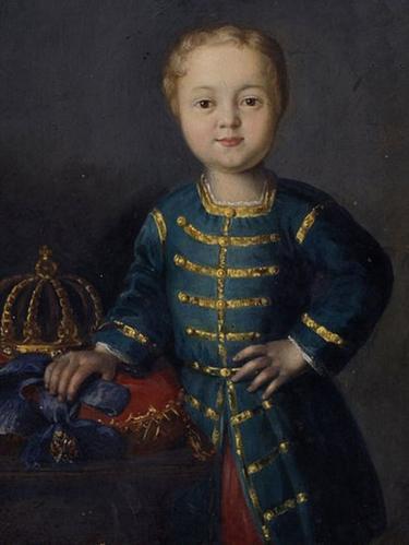 Император Всероссийский Иоанн VI (портрет кисти неизвестного художника XVIII века)