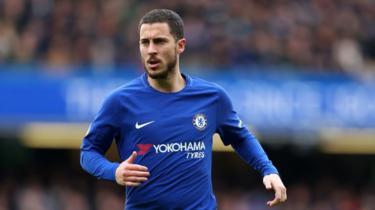 Eden Hazard winga wa Chelsea