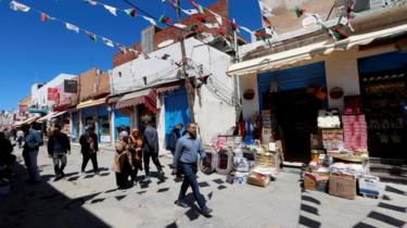 A market in Tripoli.