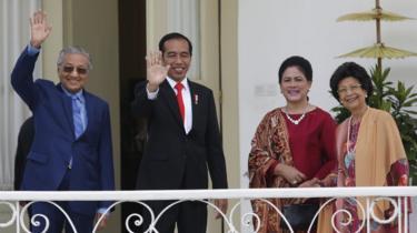 Mahathir dan Joko Widodo