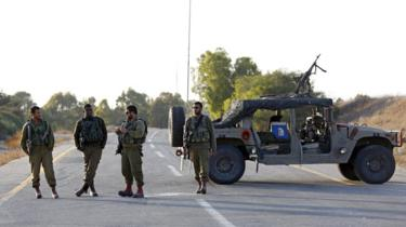 عدد من جنود الجيش الإسرائيلي