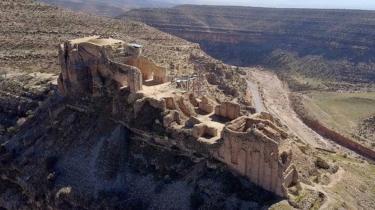 المنظر الساساني الأثري في منطقة فارس
