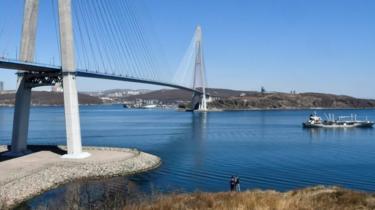 Russky island, Vladivostok, file picture 19 April 2019