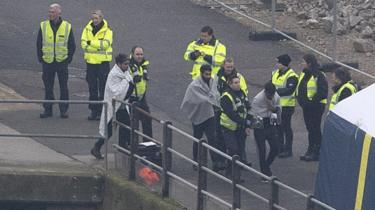 More Dover Migrants Cross The Channel And Are Escorted By Border Force