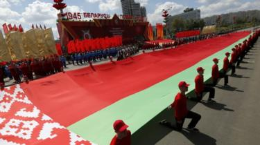 Victory Day parades went ahead in Minsk, Belarus